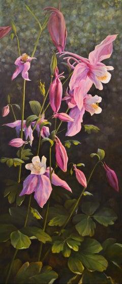 We Are Growing- Elvira Dik, 21st Century Contemporary Flower Oil Painting