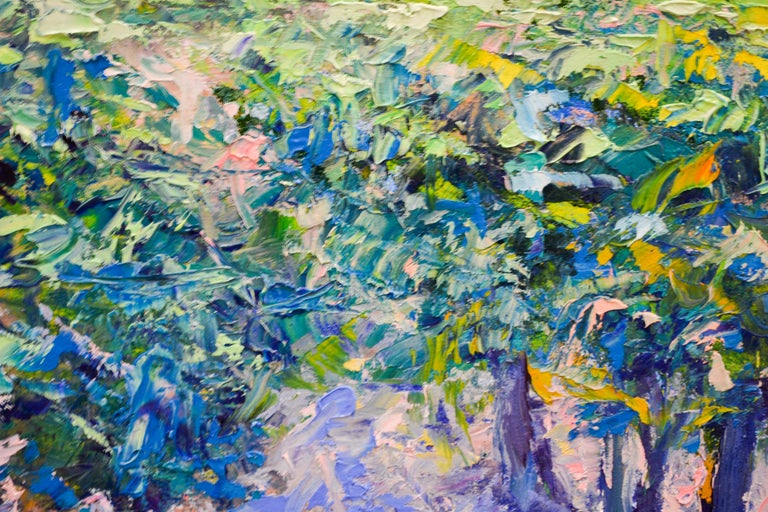 Vineyard - Ronald Soeliman, 21st Century Contemporary Oil Painting Landscape For Sale 2