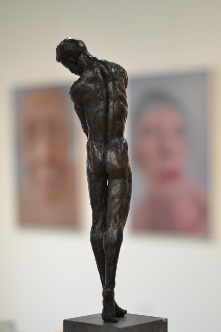 Masculine Naked - Romee Kanis, 21st Century Contemporary Bronze Sculpture Nude For Sale 1