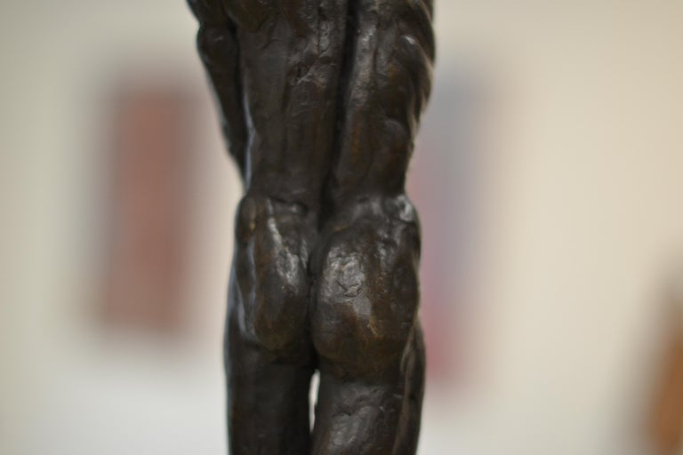 Masculine Naked - Romee Kanis, 21st Century Contemporary Bronze Sculpture Nude For Sale 7