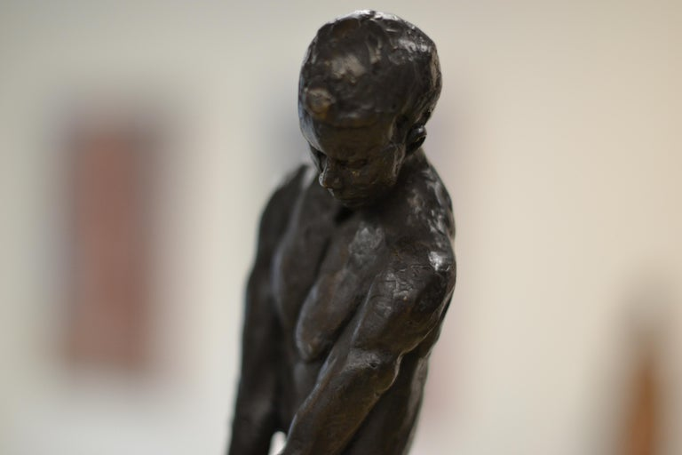 Masculine Naked - Romee Kanis, 21st Century Contemporary Bronze Sculpture Nude For Sale 3