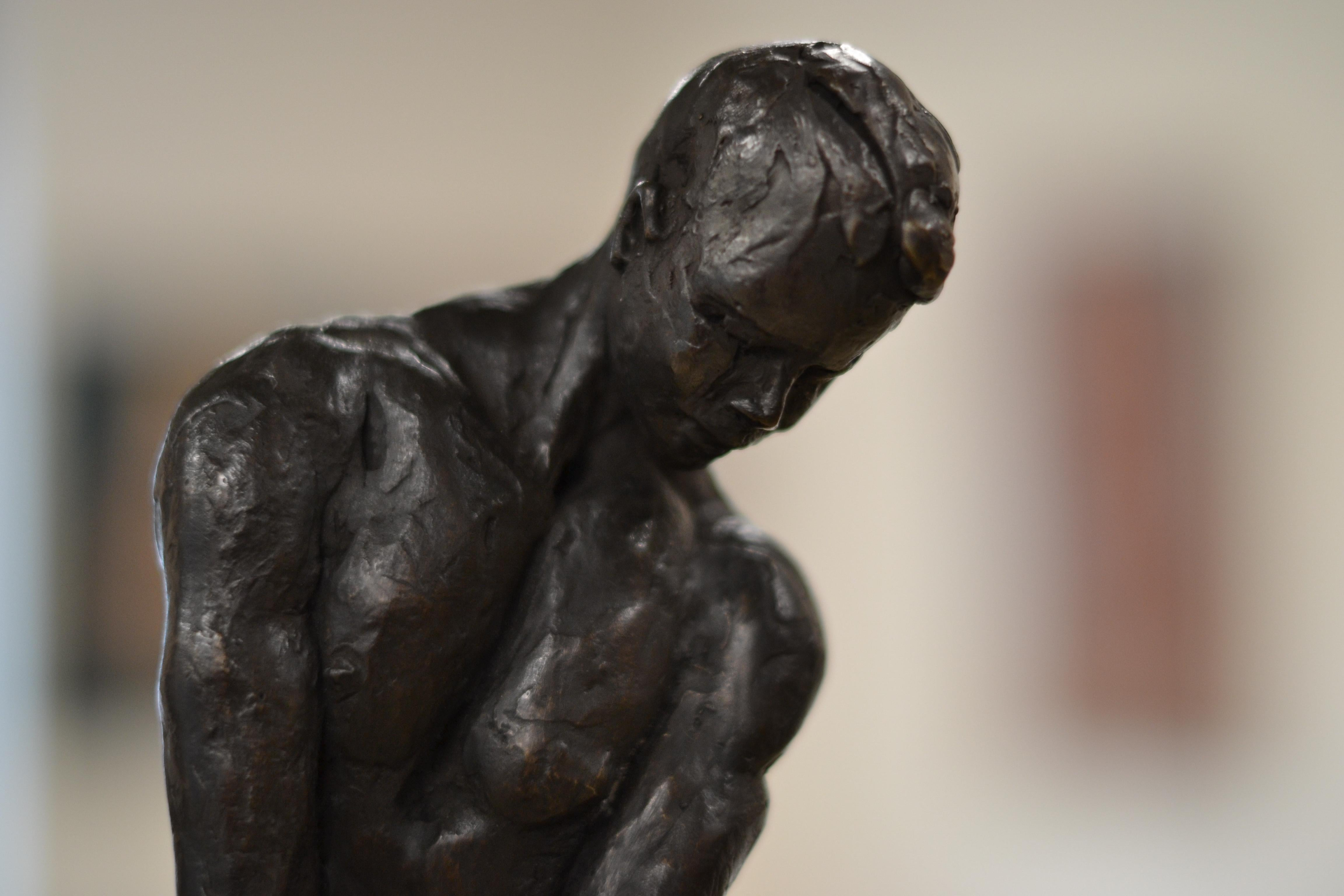 Masculine Naked - Romee Kanis, 21st Century Contemporary Bronze Sculpture Nude