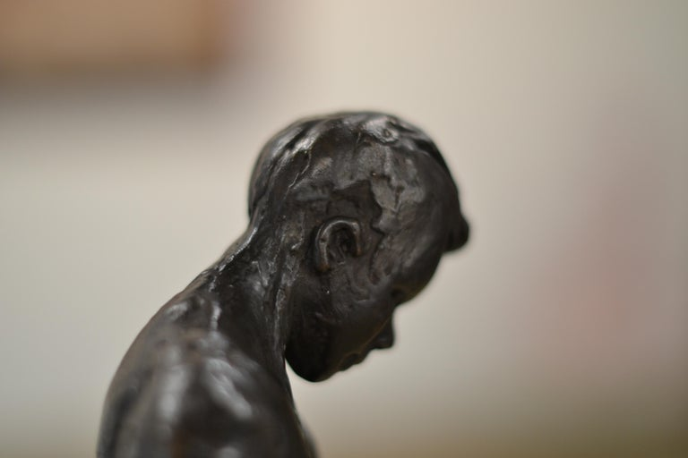 Masculine Naked - Romee Kanis, 21st Century Contemporary Bronze Sculpture Nude For Sale 5