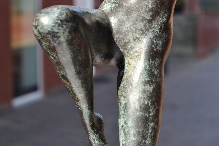 Freedom - Andries Velting 21st Century Contemporary Bronze Sculpture Patina  For Sale 4
