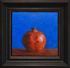 Pomegranate - Ben Rikken, 21st Century Contemporary Still-life Oil Painting