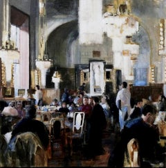 Fridaymorning- 21st Century Contemporary Interior Painting