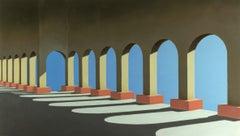 Versailles - Bert Brus, 21st Century Contemporary Oil Painting