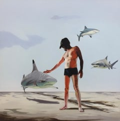 Sharkmaster- 21st Century Dutch Contemporary Painting