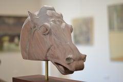 Horse of Selene - Jos de Wit, 21st Century Contemporary Wooden Sculpture