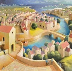 The City and it's Happiness - Michiel Schrijver, 21st Century Contemporary