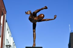 Let's Dance - 21st Century Contemporary Bronze Sculpture by Martijn Soontiens