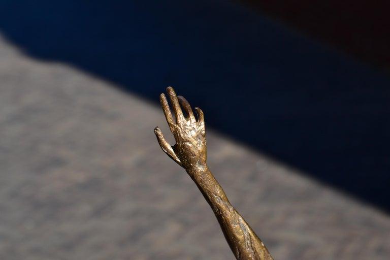 Modern Love - 21st Century Contemporary Bronze Sculpture by Martijn Soontiens 12