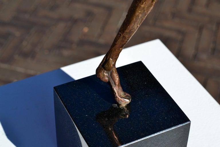 Modern Love - 21st Century Contemporary Bronze Sculpture by Martijn Soontiens 13