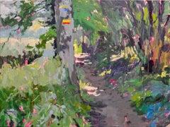 Hertog Jan Path - 21st Century Contemporary Oil Painting by Dutch Eric Schutte