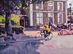 Nune Ville - 21st Century Contemporary Oil Painting by Dutch Eric Schutte