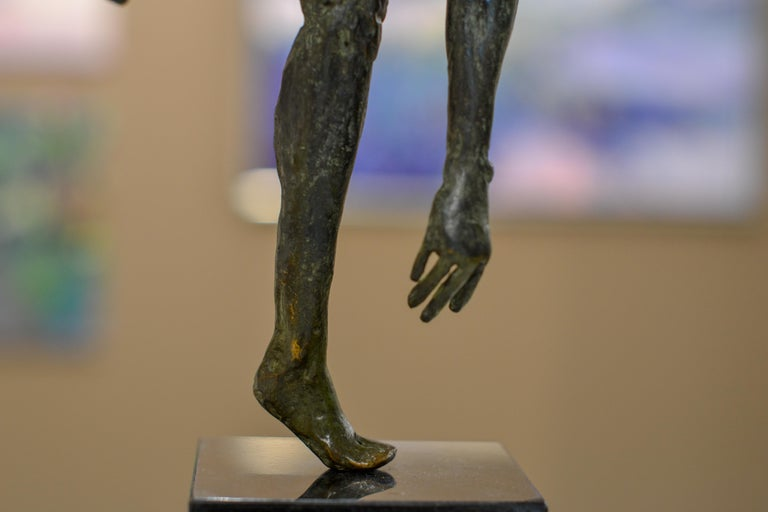 Dancing Free - 21st Century Contemporary Bronze Sculpture by Martijn Soontiens For Sale 6