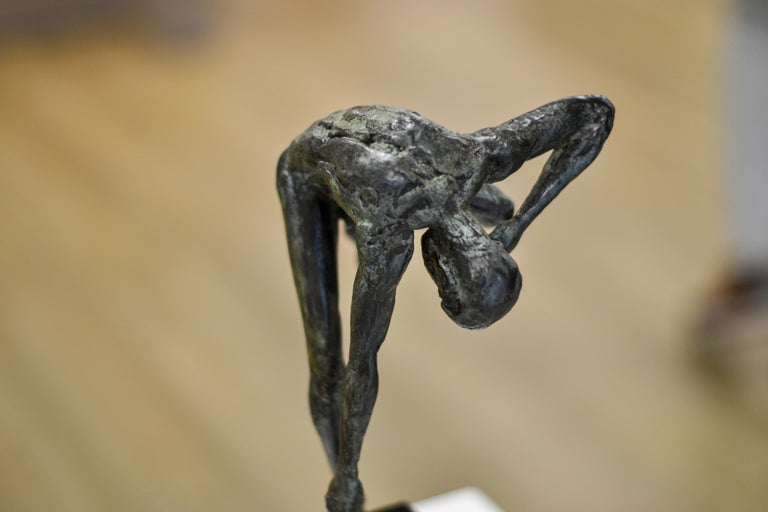 Dancing Free - 21st Century Contemporary Bronze Sculpture by Martijn Soontiens For Sale 9