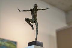 Fourth Dancer - 21st Century Bronze Sculpture by Dutch Martijn Soontiens