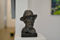 Vincent II - Sculpture by Dutch Artist Romee Kanis, Inspired by Vincent Van Gogh
