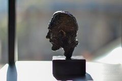 Vincent III - Sculpture by Dutch Artist Romee Kanis Inspired by Vincent Van Gogh