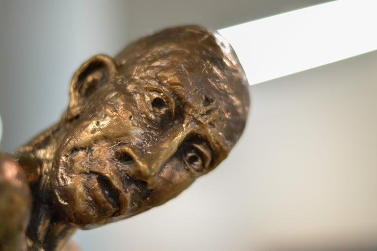 Dancer no. 5 - Martijn Soontiens, 21st Century Contemporary Sculpture of a Man For Sale 5