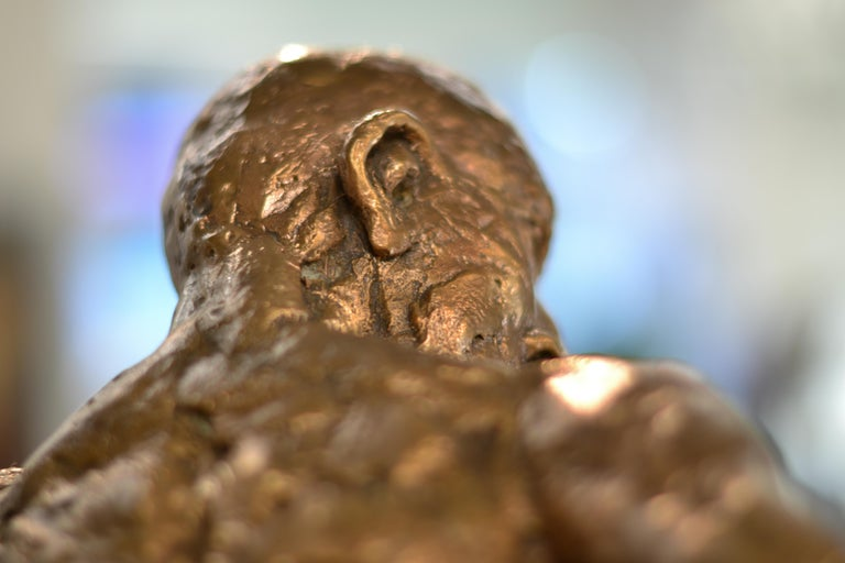 Dancer no. 5 - Martijn Soontiens, 21st Century Contemporary Sculpture of a Man For Sale 7