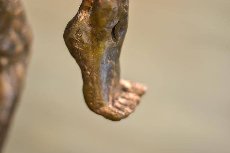 Dancer no. 5 - Martijn Soontiens, 21st Century Contemporary Sculpture of a Man For Sale 8