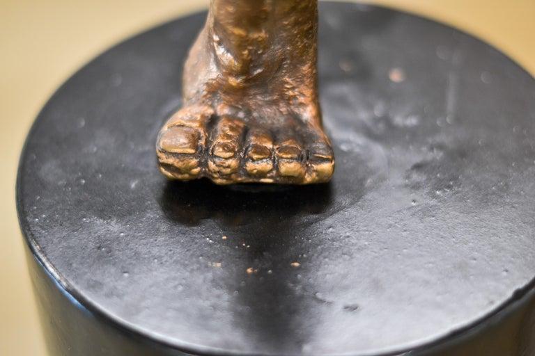 Dancer no. 5 - Martijn Soontiens, 21st Century Contemporary Sculpture of a Man For Sale 10