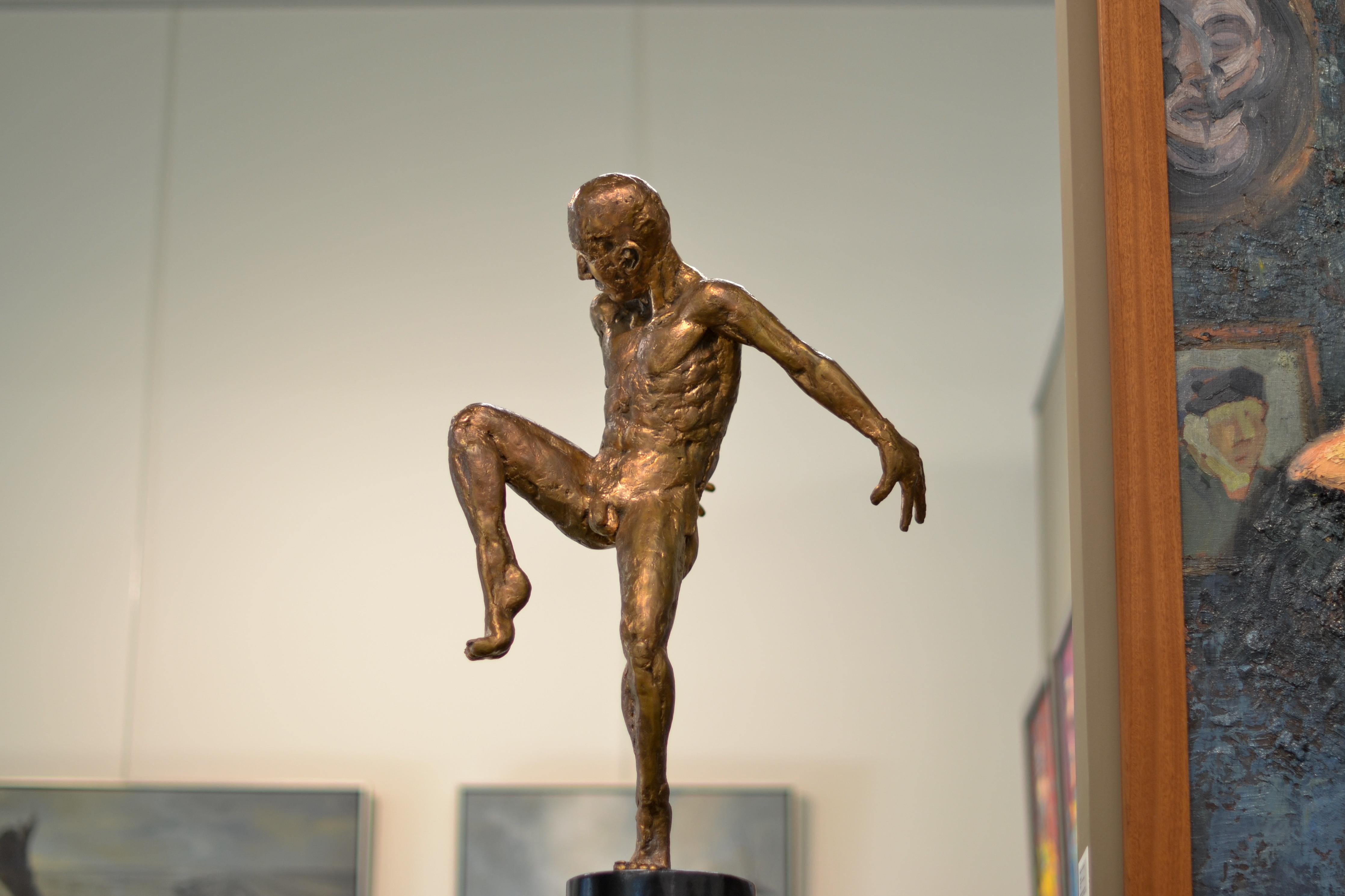 Dancer no. 5 - Martijn Soontiens, 21st Century Contemporary Sculpture of a Man