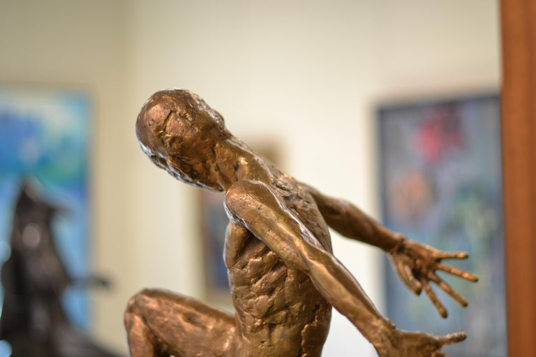 Dancer no. 5 - Martijn Soontiens, 21st Century Contemporary Sculpture of a Man For Sale 12