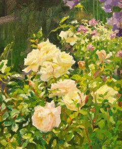 Rosa Clementine - 21st Century Dutch Contemporary Allaprima Oil Painting