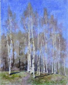 Sunny Day - 21st Century Contemporary Oil Painting by Ksenya Istomina