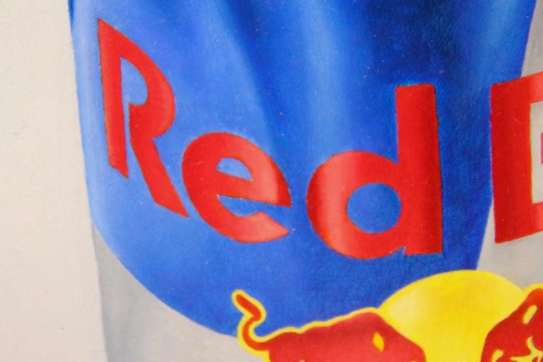 Poppy versus Red Bull - 21st Century Contemporary Still-Life by Dutch JP Marsman For Sale 2