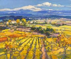 Mont Ventoux - 21st Century Contemporary Impressionist Landscape Painting