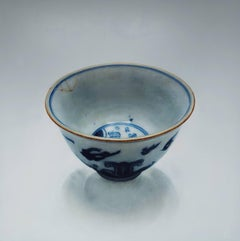 Bowl 1.1 - 21st Century Contemporary Hyper Realistic Oil Painting of a  Bowl