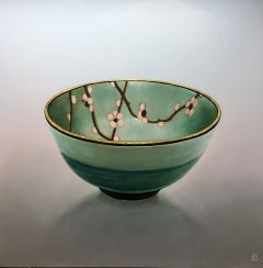Bowl 1.3 'Patience' - 21st Century Contemporary Painting of a Japanese Bowl