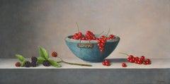 Blackberries& Berries -21st Century contemporary still-life painting A. Jonkhart