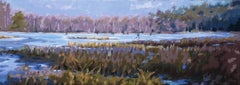 Frozen- 21st Century Contemporary Winter Landscape by Mitzy Renooy