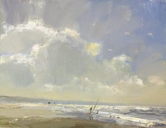 Seascape, Sunny Clouds and Light, Roos Schuring, 21st Century Contemporary