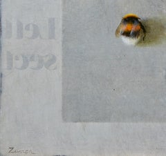 Bumblebee- 21st Century Contemporary Still-life Painting by Erik Zwaga