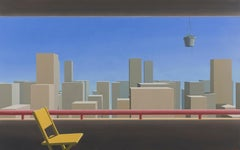 Room With A View - Bert Brus, 21st Century Contemporary Oil Painting
