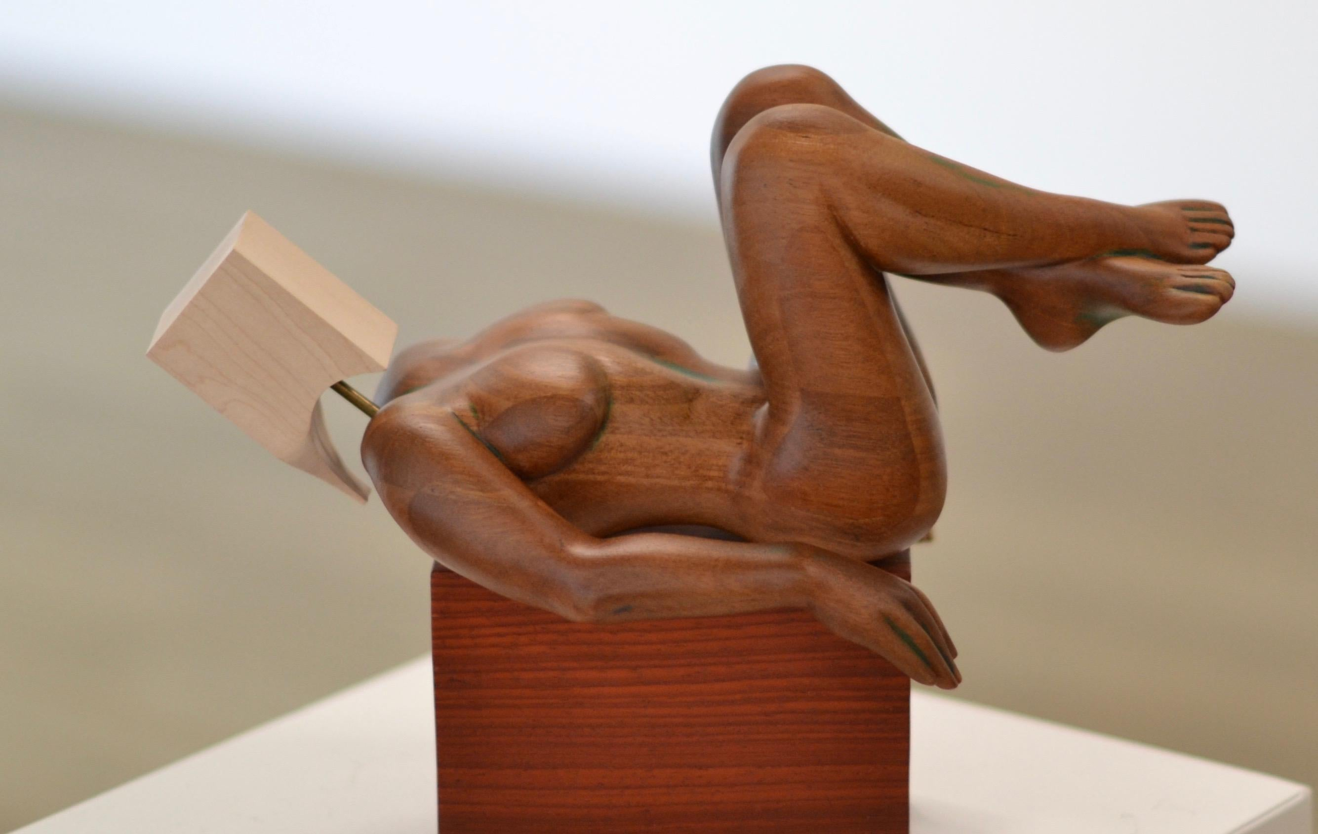 Catatonian Virgin - Jos de Wit, 21st Century Contemporary, Eucalyptus Maple Wood