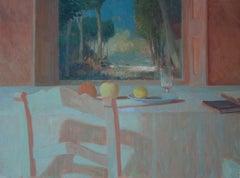 Table Still-life - Edwin Aafjes, 21st Century Contemporary Oil Painting