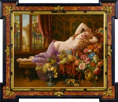 Awaken in Opulence - Cornelis Le Mair, 21st Century Contemporary Oil Painting