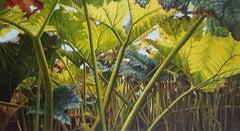 Green Light - Elvira Dik 21st Century Contemporary Oil Painting by Dutch Artist