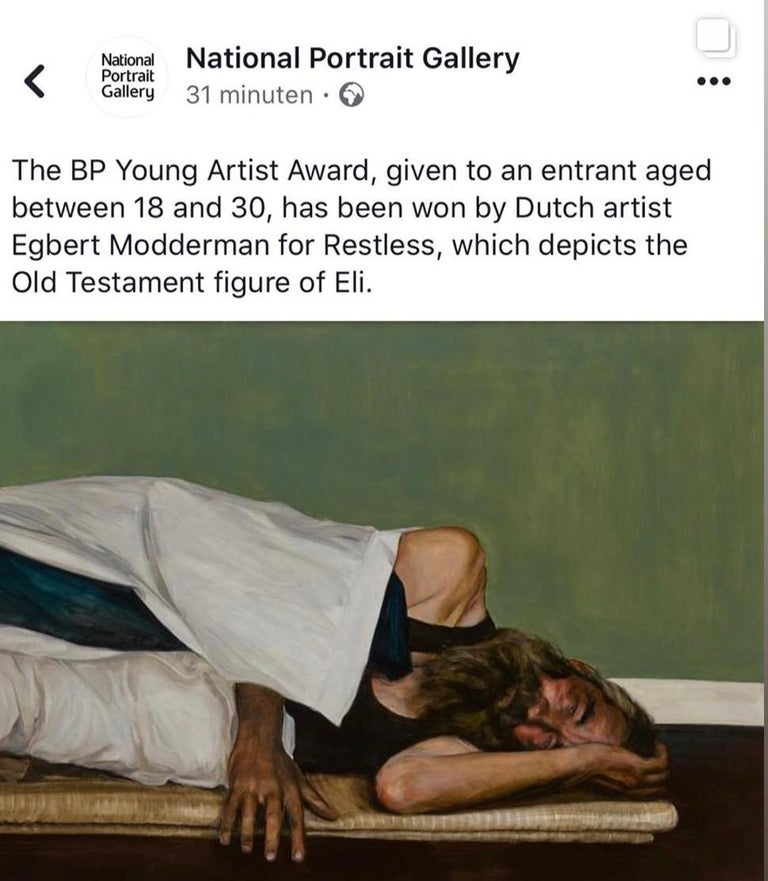 Esther - 21st Century Dutch Portrait Painting of the Bible story