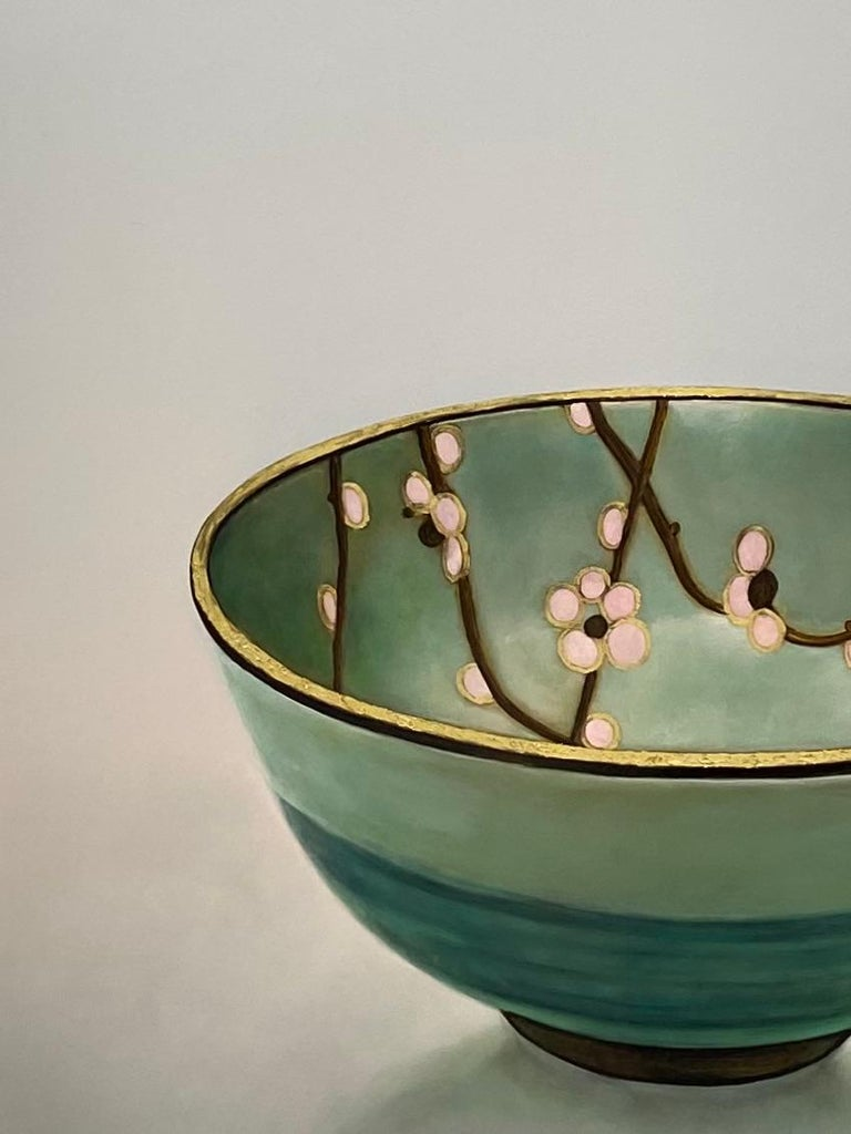 Bowl 1.3 'Patience' - 21st Century Contemporary Painting of a Japanese Bowl 1