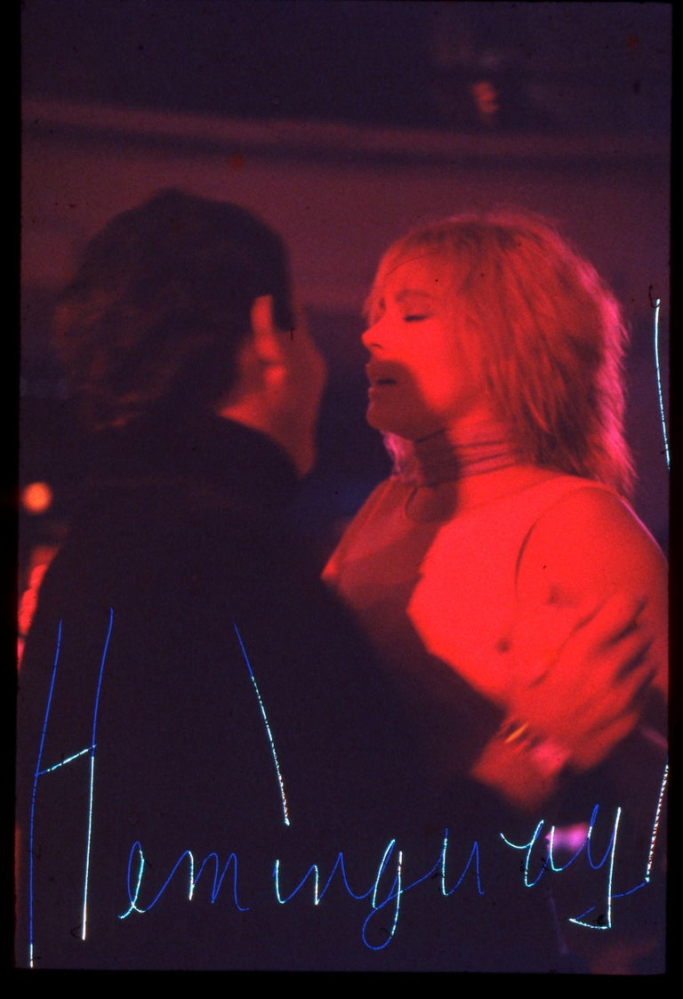 Robin Rice Portrait Photograph - Hemingway, Opening Night Studio 54, New York, NY, 1977