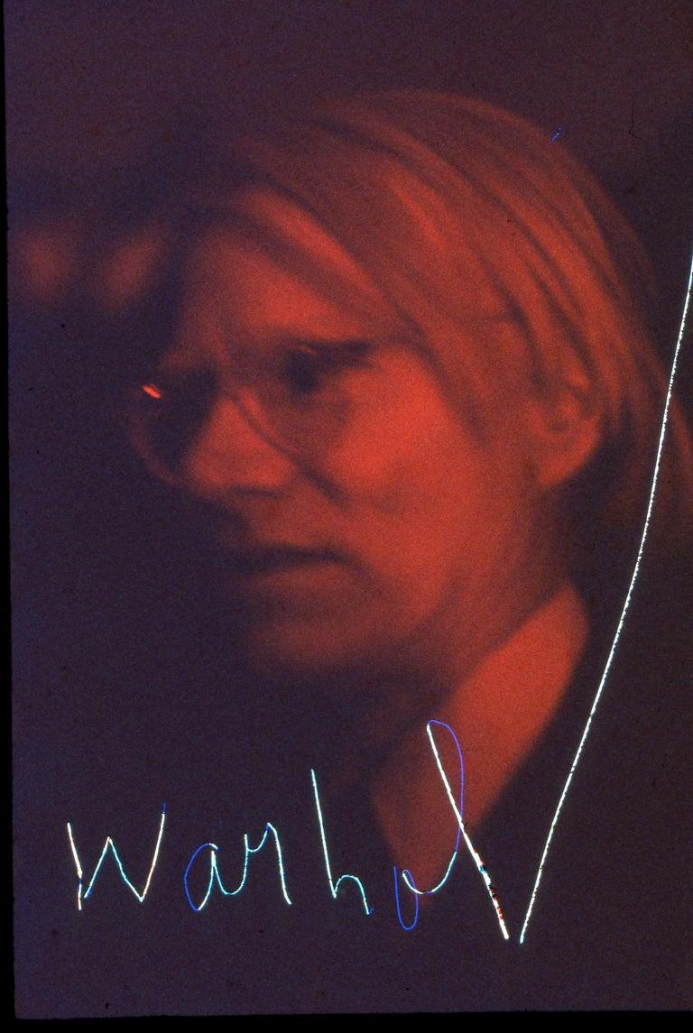Robin Rice Photography Color Photograph - Warhol, Opening Night Studio 54, New York, NY, 1977