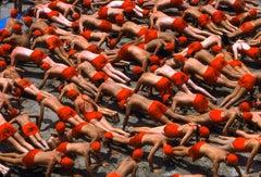 Red Pushups, 1985 Huntington Beach, CA
